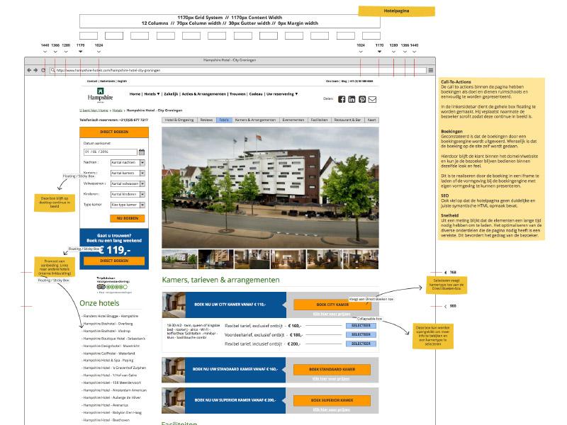 Wireframing en design WordPress thema - Solomax