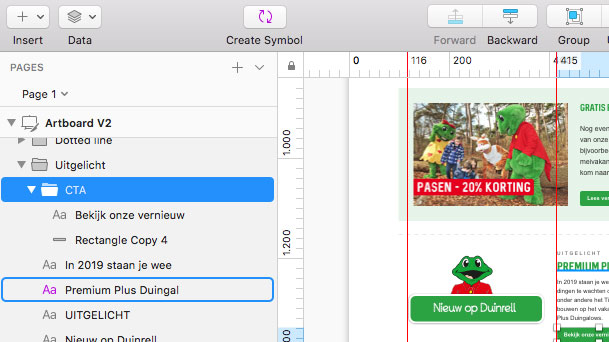 Email design template laten maken - Solomax